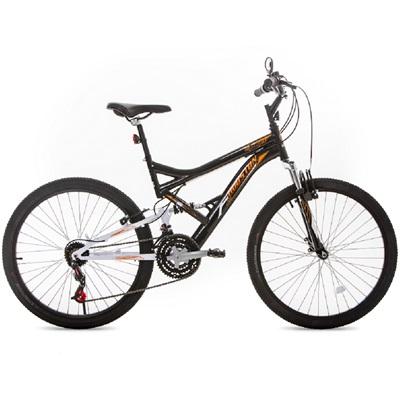 Bicicleta Stinger Aro 26 Preto e Branco 1 UN Houston