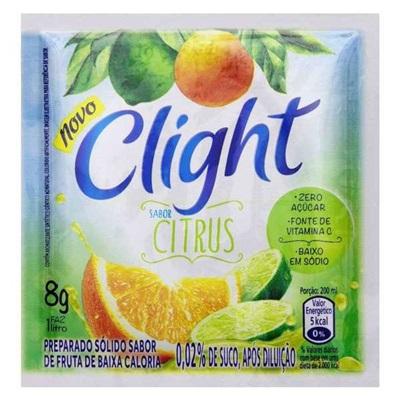 Suco em Pó de Citrus 8g 1 UN Clight