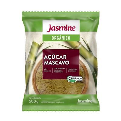 Açúcar Mascavo Orgânico 500g Jasmine