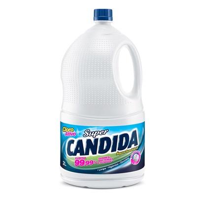 Água Sanitária Cloro Ativo 2,0 a 2,5% 5L 1 UN Super Cândida