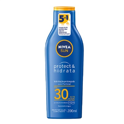 Protetor Solar Loção FPS 30 Light Feeling 200ml 1 UN Nivea
