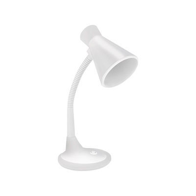 Luminária de Mesa TLM 03 E27 Branco 1 UN Taschibra