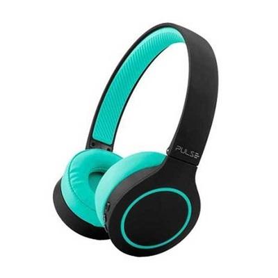 Headphone Bluetooth 5.0 Head Beats Verde Bateria 20h PH340 1 UN Pulse