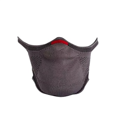 Máscara Proteção Reutilizável Cinza G 1 UN Knit Fiber