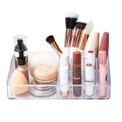 Organizador de Maquiagem e Cosméticos Protea Essencial Com 11 Divisórias Cristal 1 UN Dello