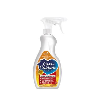 Desinfetante Casa & Cuidado Spray Perfeita Proteção 500ml Casakm