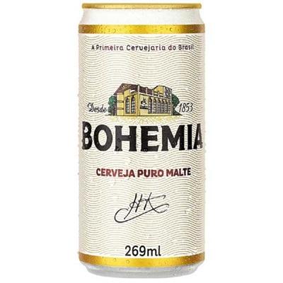 Cerveja Bohemia Puro Malte Lata 269ml 1 UN