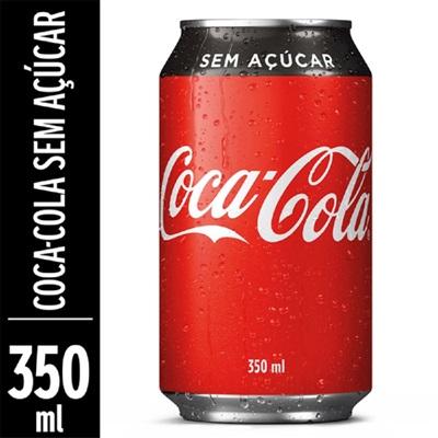 Refrigerante Coca Cola Zero Lata 350ml 1 UN