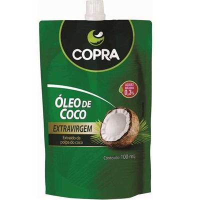 Óleo de Coco Extra Virgem 100ml Pouch 1 UN Copra