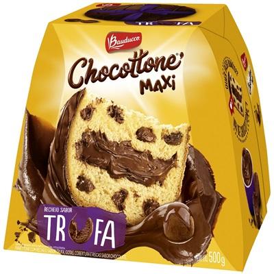 Chocottone Maxi Trufa 500g 1 UN Bauducco