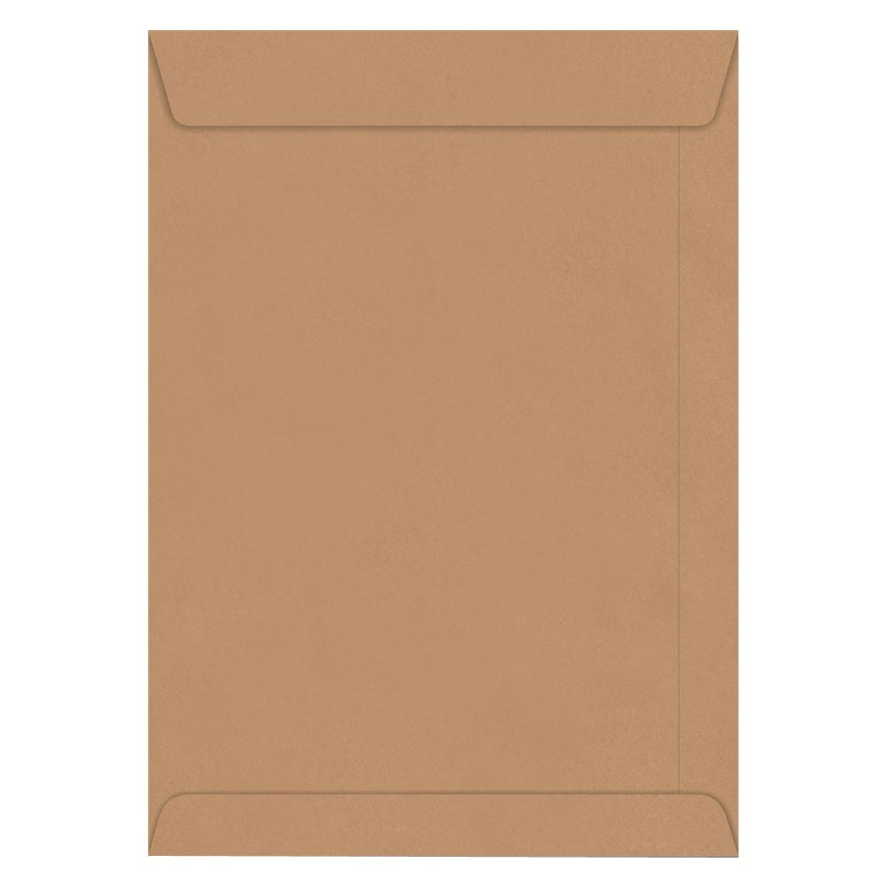Envelope Saco Kraft Natural 80g 260x360mm CX 250 UN Foroni