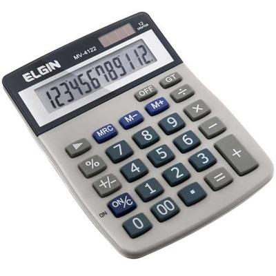 Calculadora de Mesa 12 Dígitos Branco MV4122 1 UN Elgin