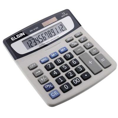 Calculadora de Mesa 12 Dígitos Gelo MV4123 1 UN Elgin