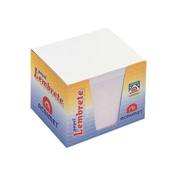 Bloco para Rascunho Cubo Branco 750 Folhas 1 UN Acrimet