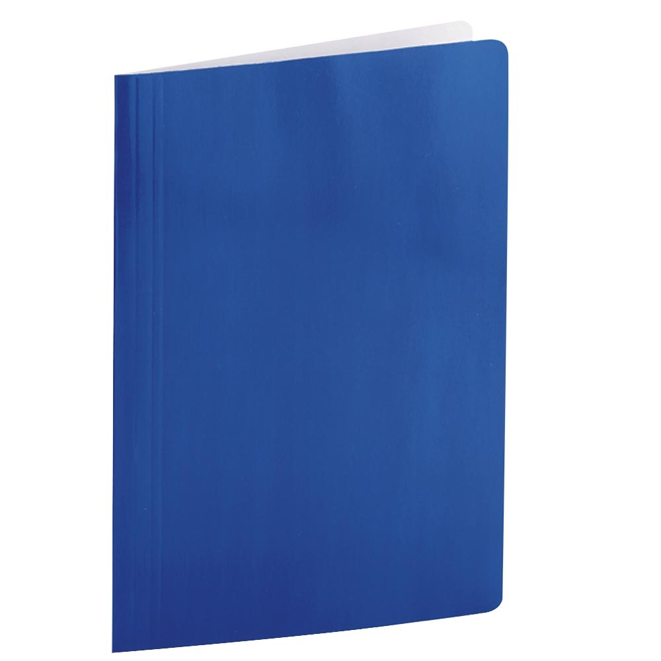 Pasta com Grampo Ofício DelloPlus Cartão Triplex 340x245mm Azul Escuro 1 UN Dello