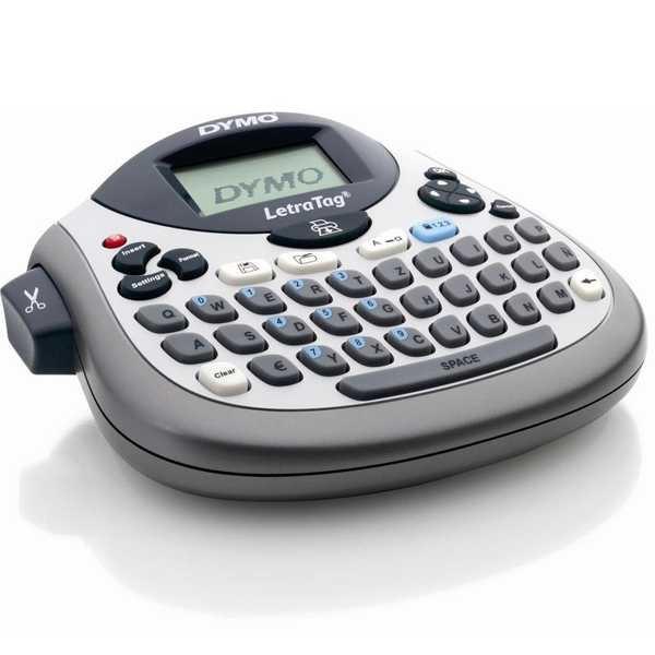 Rotulador Eletrônico Letratag Qwerty Cinza LT100T Dymo