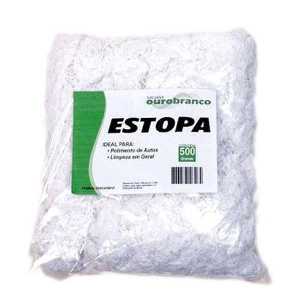 Estopa para limpeza 500g 1 UN Sacaria Ouro Branco