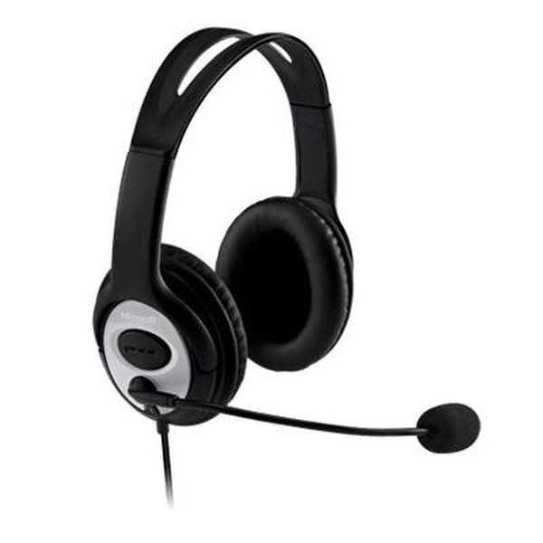 Headset LifeChat com Microfone USB Preto LX-3000 1 UN Microsoft