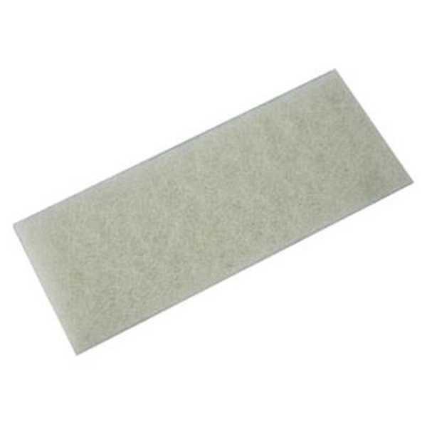 Fibra para Limpeza Leve 10,2x26cm Branca 1 UN British