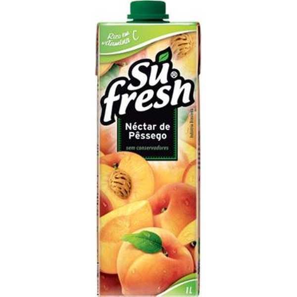 Suco Néctar de Pêssego 1L 1 UN Sufresh