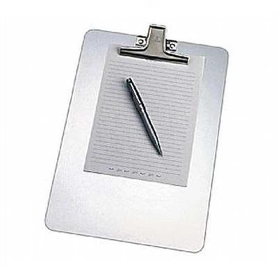 Prancheta Ofício com Prendedor Aço Inox Alumínio 123 1 UN Acrimet