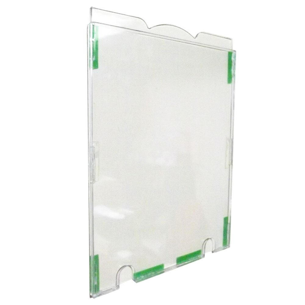 Expositor em Poliestireno A4 Multiuso 230x320mm Cristal 7400 1 UN Acrinil