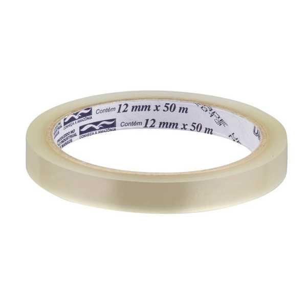Fita Adesiva Transparente Durex 12mm x 50m 1 UN 3M