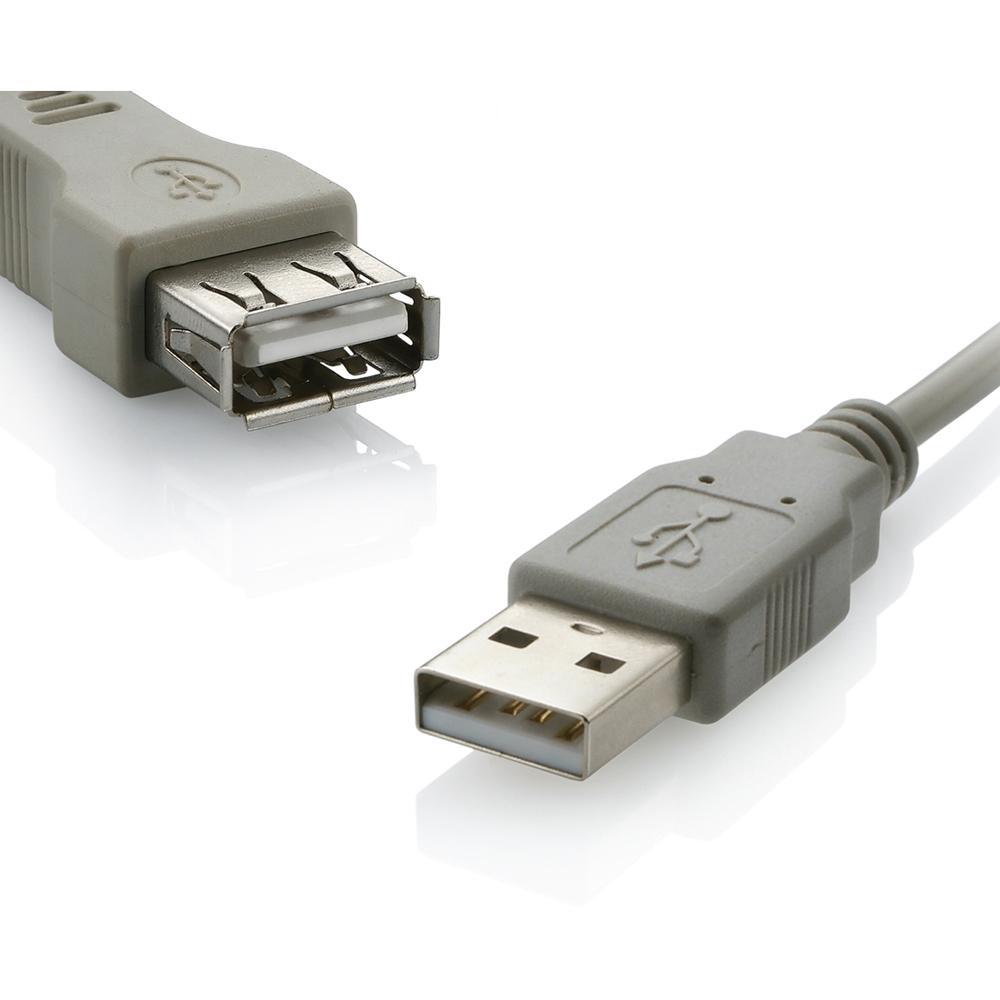 Cabo Extensor USB 2.0 AF-AM 1,8m Cinza WI026 1 UN Multilaser