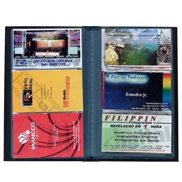 Porta Cartão 120 Lugares Preto 1323 1 UN Chies