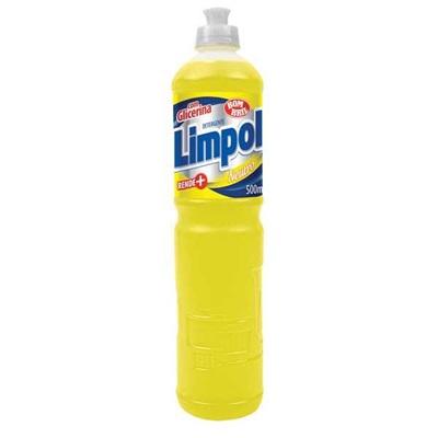 Detergente Líquido 500ml Neutro 1 UN Limpol