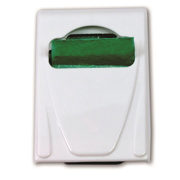Dispenser para Saco de Descarte de Absorvente Higiênico Branco 1 UN Premisse