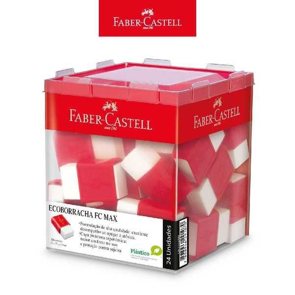 Borracha FC Max Branca CX 24 UN Faber Castell