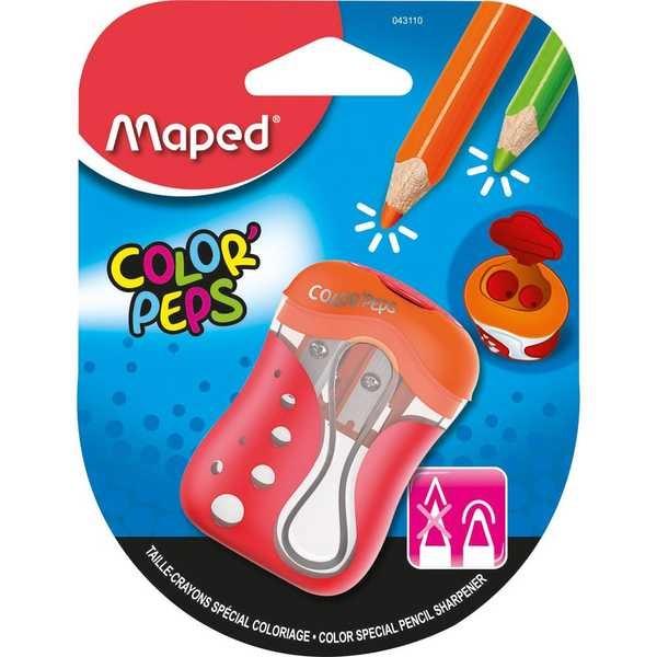 Apontador Color Peps 2 Furos Cores Sortidas 1 UN Maped