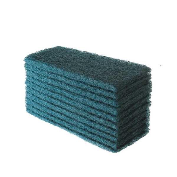 Fibra para Limpeza Pesada 10,2x26cm Verde 1 UN British