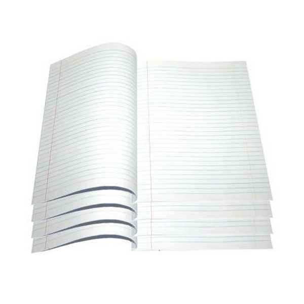 Papel Almaço Pautado Margem Branca 20x27,5cm 400 UN Datapel