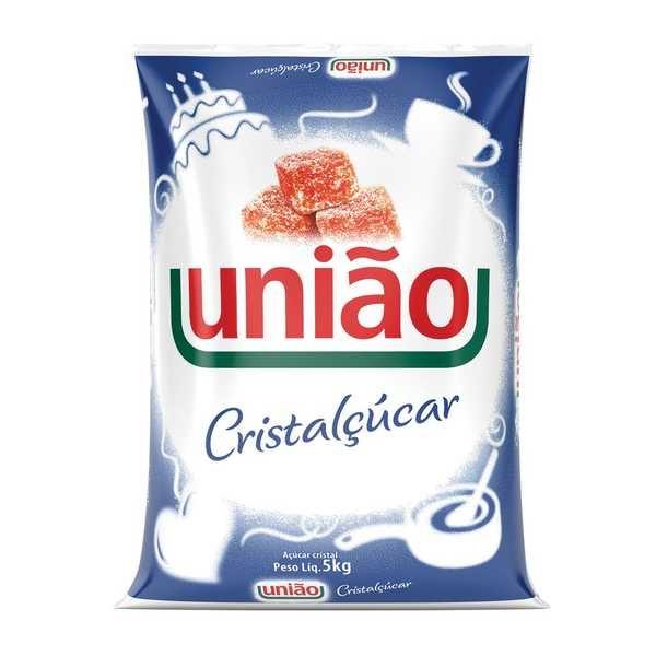 Açúcar Cristal 5kg 1 UN União