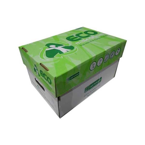 Papel Sulfite Reciclado Eco Millenium A4 CX 5000 FL Jandaia