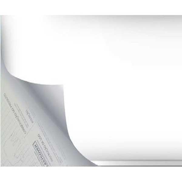Plástico Autoadesivo Estampa Branco Opaco 45cm x 2m 1 UN Plastcover
