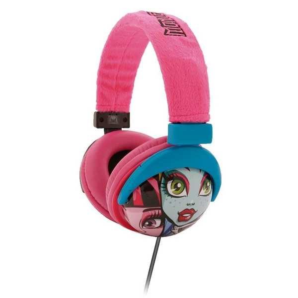 Headphone Monster High Rosa PH107 1 UN Multilaser