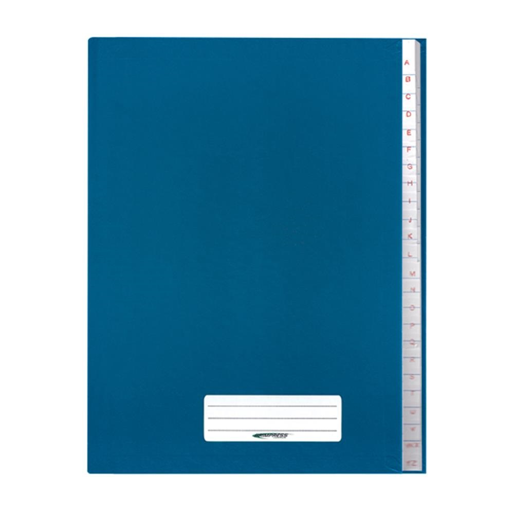 Caderno Brochura Capa Dura 1/4 96 FL Azul 1 UN Brimpress