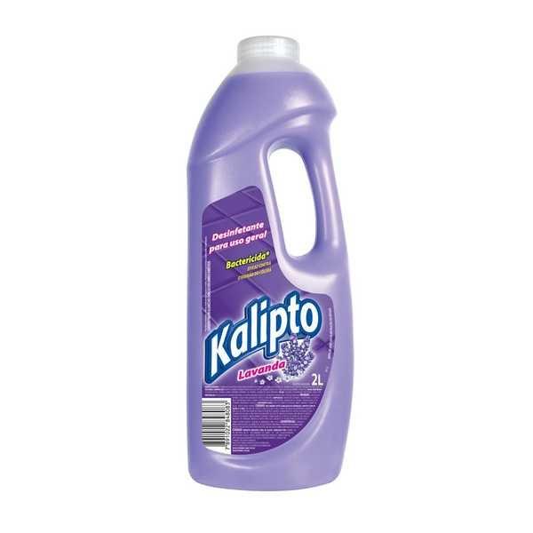 Desinfetante Bactericida 2L Lavanda 1 UN Kalipto
