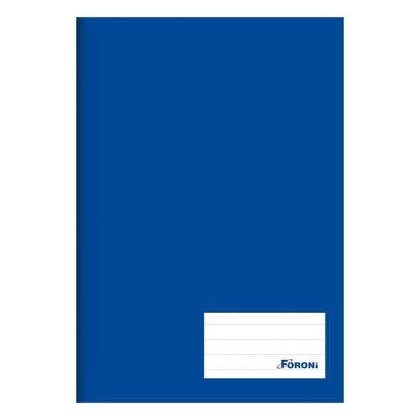 Caderno Brochurão Capa Dura Universitário 96 FL Azul 1 UN Foroni