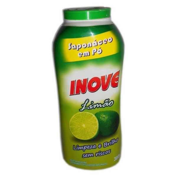 Saponáceo em Pó 300g Limão 1 UN Inove