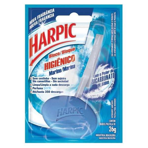 Bloco Sanitário 26g Marine 1 UN Harpic