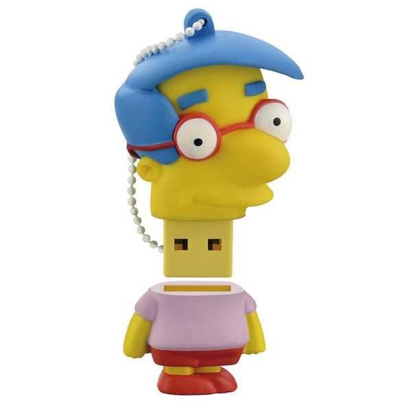 Pen Drive Os Simpsons Milhouse 8GB USB 2.0 PD075 1 UN Multilaser