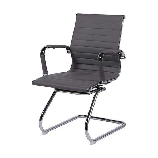 Cadeira Fixa Charles Eames em PU Base S Cinza OR Design