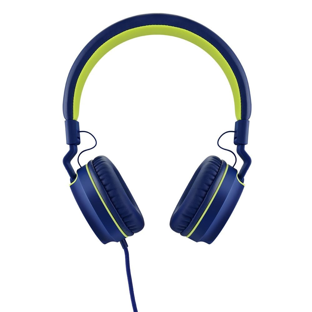 Headphone Over Ear Wired Fun P2 Azul e Verde PH162 1 UN Pulse