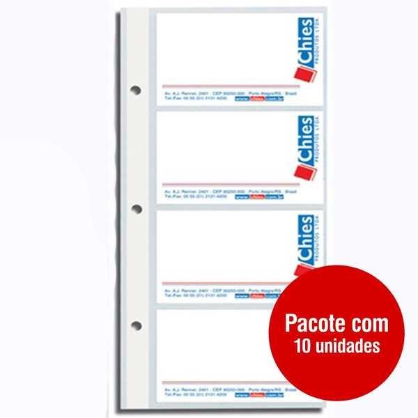 Refil para Porta Cartão 1409-7 PT 10 FL Chies