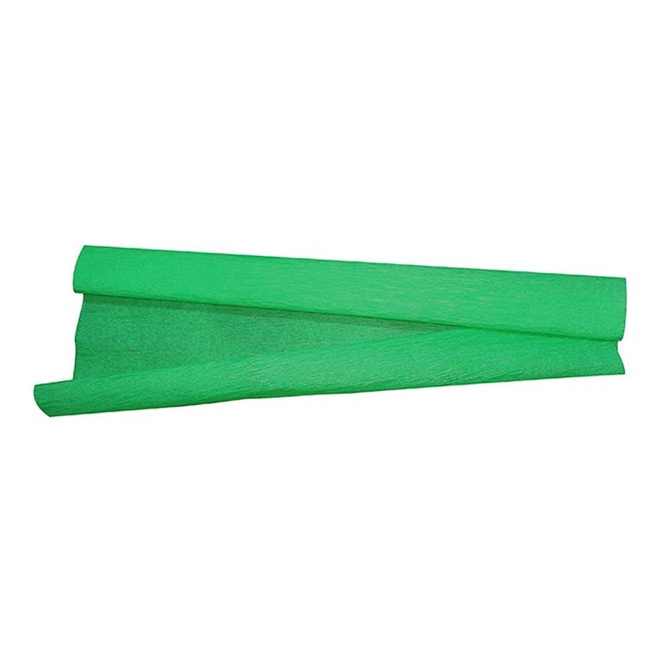 Papel Crepom Verde 48cm x 2m 10 FL VMP