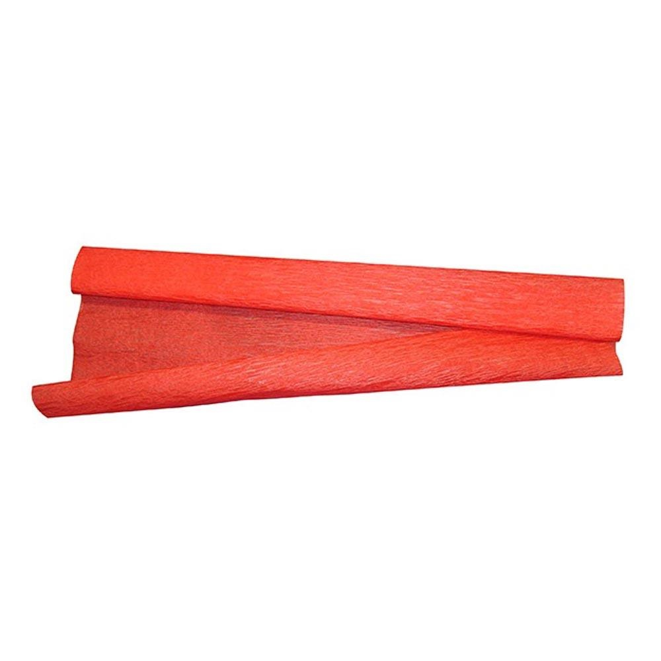 Papel Crepom Vermelho 48cm x 2m 10 FL VMP